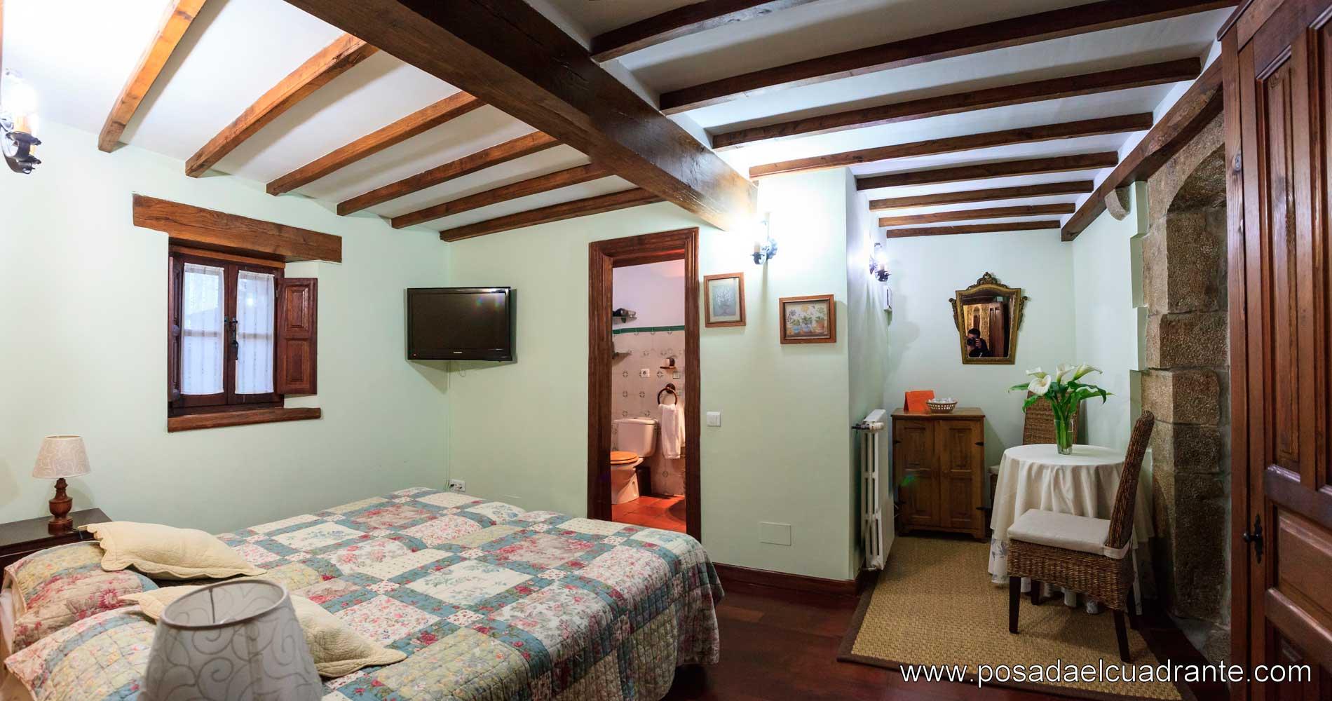 Habitaciones Familiares en Posada El Cuadrante