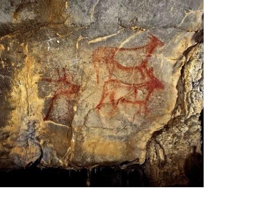 La Cueva de La Garma en Ribamontán al Monte.Cantabria