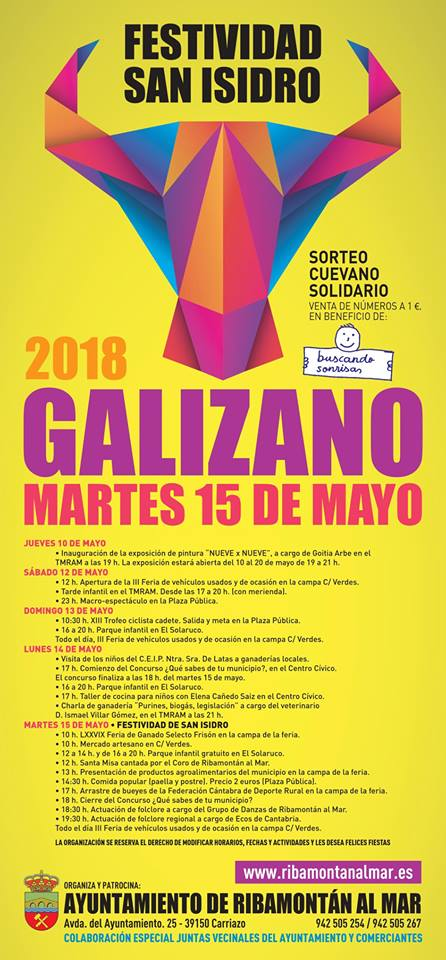 San Isidro 2018 Galizano, Ribamontán al Mar